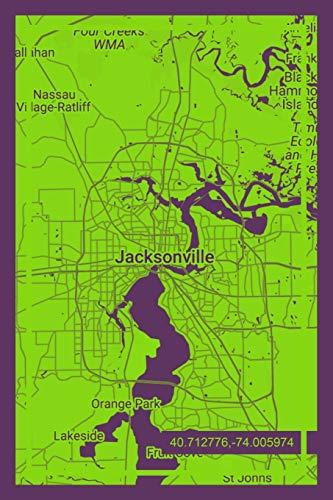 Notebook: Jacksonville Florida Design Notpad Journal for Men Women & Kids