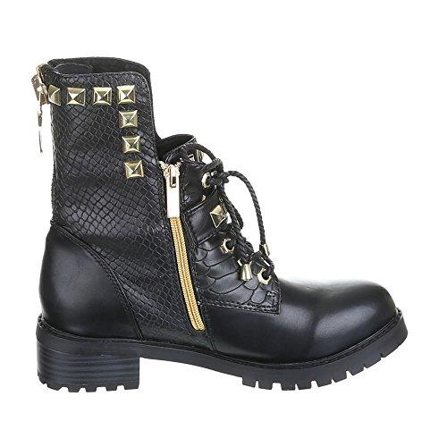 Damen Schuhe, ROBERTA, BOOTS Schwarz SARLOTT
