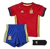 adidas Baby Fußball/Heim-ausrüstung UEFA Euro 2016 Spanien Mini, Scarle/byello, 80, AA0840