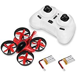GoolRC Scorpion T36 2.4G 4 canales 6-Axis Gyro 3D-Flip antiaplastamiento UFO RC Quadcopter RTF aviones no tripulados con 1 Extra Battery grandes regalos Juguetes