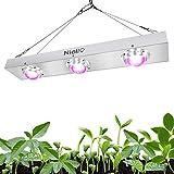 COB LED Grow Light, Niello 600W Luz de Espectro Completo Crecimiento para plantas de interior, para hidroponía Sistema de invernadero para plantas de interior para el crecimiento y la floración.