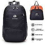 YARD Zaino Ripiegabile 25L, Ultra Leggero Impermeabile Escursionismo Daypack per Uomo Donna per Viaggi/Campeggio/Outdoor