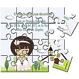 Recordatorio nña Comunión en puzzle (2,15€ unidad)