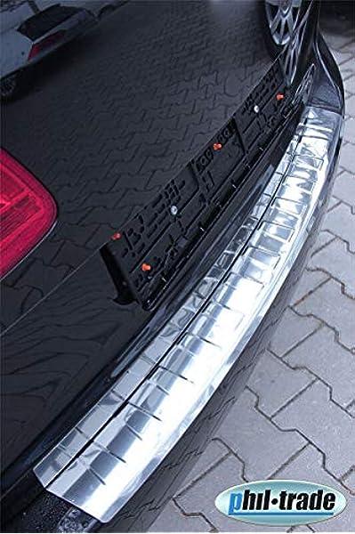 Recambo Ct Lks 2600 Ladekantenschutz Edelstahl Chrom Für Vw Touran 2010 2015 1t3 Facelift Abkantung Large Auto