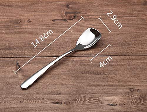 Canju Küche/Geschirr/für Zuhause Outdoor Camping 304 Edelstahl Eis Schaufel Joghurt Spatel Dessert Löffel Eis Schaufel Exquisite Mini Schaufel Löffel