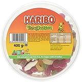 Haribo Tangfastics Drum Sweet Foam Gums, 400 g, Pack of 1