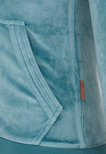 Naketano Female Zipped Jacket Brazzo Mack Mellow Blue