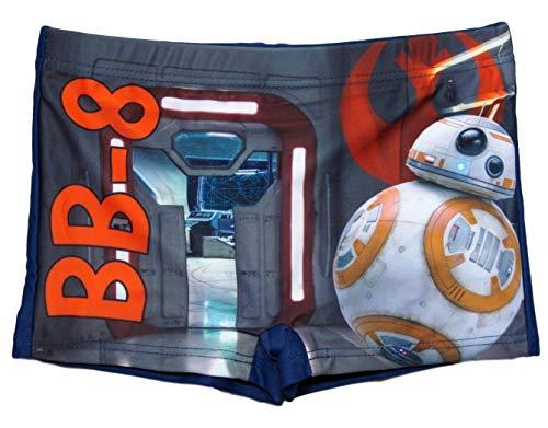 Star Wars Badeshorts BB8 Jungen Badehose (Blau BB8, 140)