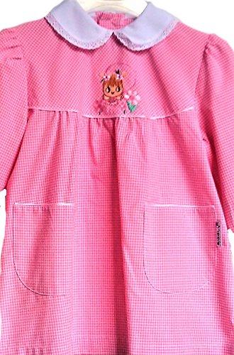 Grembiule asilo nido (18 mesi - 84 cm, rosa)
