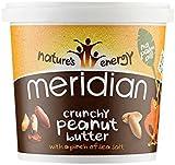 Meridian Natural Crunchy Peanut Butter 1 Kg (Pack of 2)