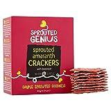 Sprouted Genius Amaranth Cracker mit Rotem-Bete-90g