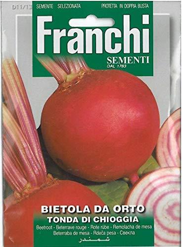Keim Seeds Nicht NUR Pflanzen: i Seeds of Italy - Rote Beete - Chard Von Orto - Tonda di Chioggia - Seeds