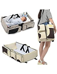 NK-STORE's Baby Travel Bed Bag Cot Bassinet And Folding Mummy Diaper Bag Baby Travel Bed Bag Mommy Messenger Bags...