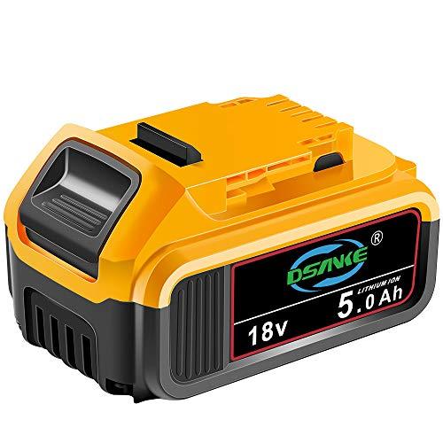 DSANKE High Capacity 18V 5.0Ah XR Li Ion Kompaktakku