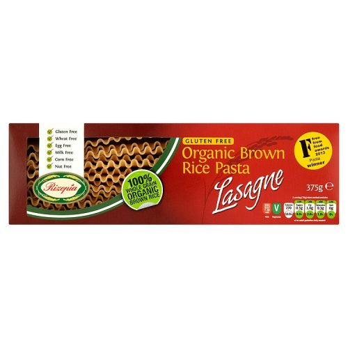 Rizopia Organic Gluten Free Brown Rice Pasta Lasagne 375g
