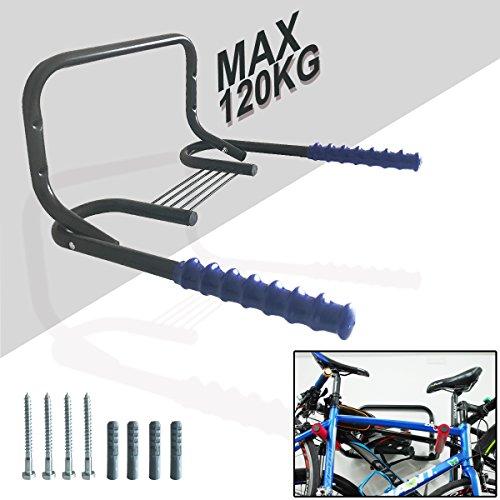 Cycle Storage 2/3 Bikes Wandmontiertes Lagerregal, Home Wall Mounted Faltrad / Fahrrad / Cycle Storage Mount Rack FüR Fahrrad-Speicher, Garage Oder Und Fahrrad Einzelhandel Displays. Stark, Langlebig (Wall Rack-fahrrad)