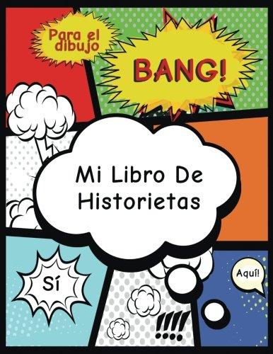 Mi Libro de Historietas: Crea tu propia tira cómica, variedad de plantillas para dibujar historietas,Blank Comic Book (Aventura de Acción)- por Blank Comic Book