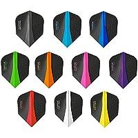 10 x Sets Harrows Retina Mixed Colour Dart Flights Standard