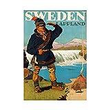 Travel Tourism LAPPLAND Sweden Glacier LAVVU Sami Framed Print F12X7080