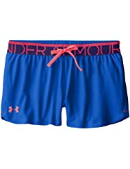 Under Armour Girls Play Up Short Niña Azul Ultra Blue Talla:FR : S (Taille Fabricant : YSM)