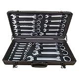 Ratschenschlüssel Set Ring Maul Schlüssel Satz 6-32mm Werkzeug 22 tlg Powerline® Flexibler Kopfschlüssel