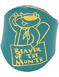 Beaver of the Month Leather Woggle - Official Scouting Product