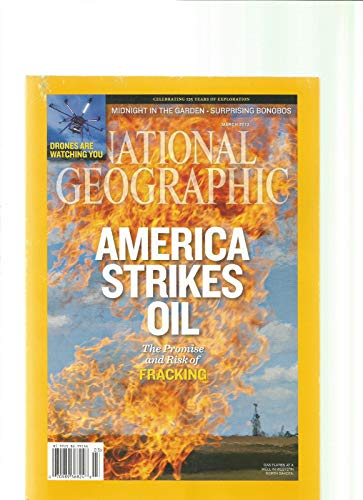 NATIONAL GEOGRAPHIC MAGAZINE ~ MARCH 2013 ~ NEW OIL LANDSCAPE ~ RISK TAKERS : ICE WATER DIVER -
