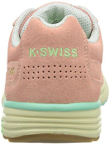 K-Swiss SI-18 RANNELL 2 93178-493-M Damen Sneaker Pink (MLLW RSE/RSE TAN/YUCCA/668)