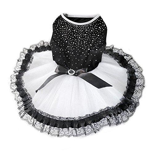 tze Hund Prinzessin Tutu Kleid Rock Haustier Kleidung Puppy Kostüm (Prinzessin-kostüme Für Hunde)