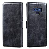 Lensun Housse Coque Samsung Note 9 Slim PU avec Etui-en-Cuir-...