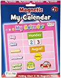 Fiesta Crafts Activity Charts Magnetic My Calendar (Pink)