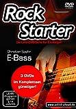 Das Rockstarter Vol. 1-3 Komplettset - E-Bass: 3 DVDs! Bassschule. Unterricht für Anfänger. Training. School Of Rock. Einfach Bass lernen.