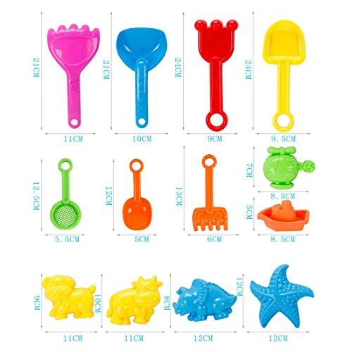 AMITas 21St. Sandspielzeug Mädchen Sandspielzeug Junge Sandkasten Spielzeug Strand Spielzeug Sommer Kinder Sandstrand Fahrzeug Strand-Werkzeuge Set für Kinder ab 2 Jahre – DE5001