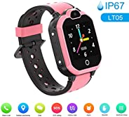 Decdeal LT05 4G Intelligent Watch for Kids BT Video Call IP67 LBS Waterproof Anti-lost Children Smartwatch Sup
