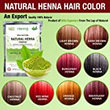 Organic Henna Hair dye/color 60 Grams For Men & Women 100% Chemical Free Red Wine henna hair color
