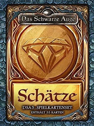 dsa5 spielkartenset Das Schwarze Auge, DSA5-Spielkartenset Schätze & Kostbarkeiten