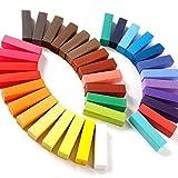 Newin Star Juquete 36 Colores Masters coloración del Cabello Pasteles de la Tiza Establece la Tiza del Pelo Temporal Pasteles DIY Colorear marcar con Tiza de Tinte Tendencia