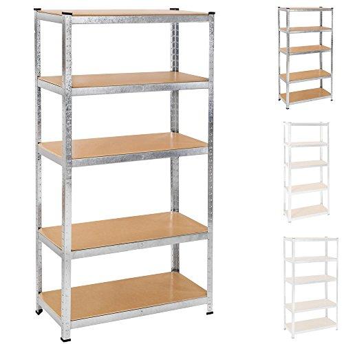 tectake-scaffale-oggetti-pesanti-officina-magazzino-armadio-garage-5-ripiani-metallo-mdf-disponibili