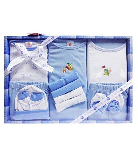 Baby Grow Mini Berry Gift Set 13pcs Newborn (Blue)
