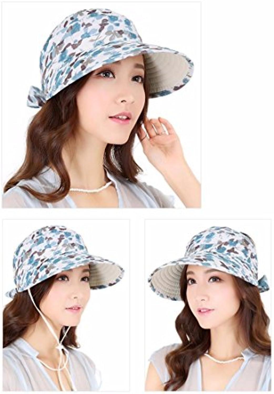YXLMZ Onorevoli Donne Cappelli Vuoto ombreggiata Top Hat Top Estate Blu Cappello  da Sole Blu Estate 346b228c8b36