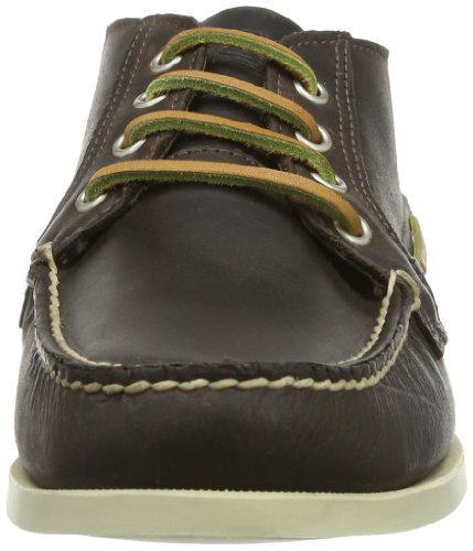 Timberland BRIG 4EYE BOAT BROWN BROWN, Mocassins homme Marron - Marron