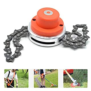 Diadia 65Mn Trimmer Head Coil Chain Brushcutter Garden Grass Trimmer Tool for Lawn Mower