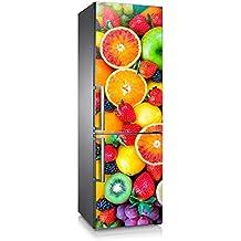 Vinilo para nevera | Stickers Fridge | Pegatina Frigo | Tutti Frutti (185x70)