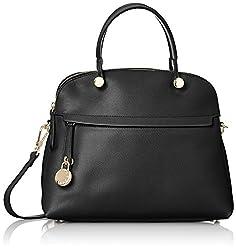 Furla Womens Piper Shoulder Bag (Onyx)
