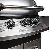 Mayer Barbecue ZUNDA Gasgrill MGG-331 Pro mit Seitenbrenner - 2