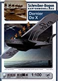 Aue Verlag 40x 48x 11cm Dornier Do X Modellbausatz