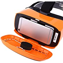 Zorbes Deepoon Kankan V2Y 3D VR Headset Movie Game Virtual Reality for 5-6 inch Smartphone