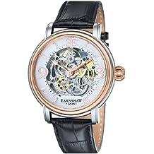 Blanco / Negro / Oro Rosa La longcase Relojes de Thomas Earnshaw