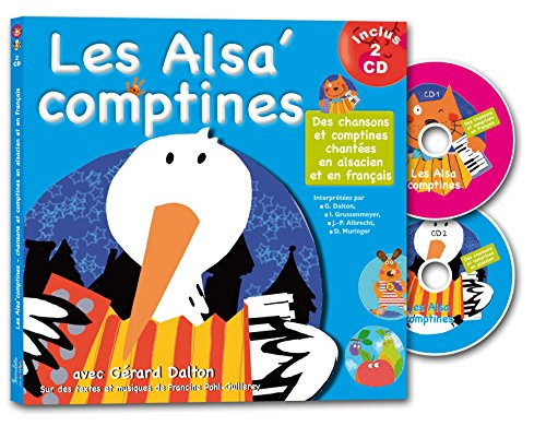les-alsacomptines-2cd-audio