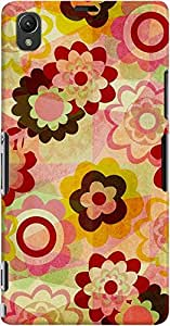 DailyObjects Colorful Mix Case For Sony Xperia Z1